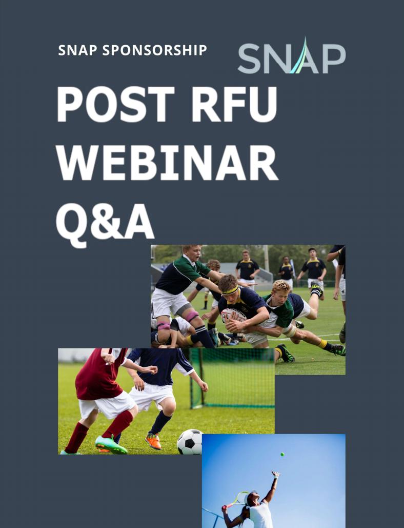 POST RFU WEBINAR Q&A