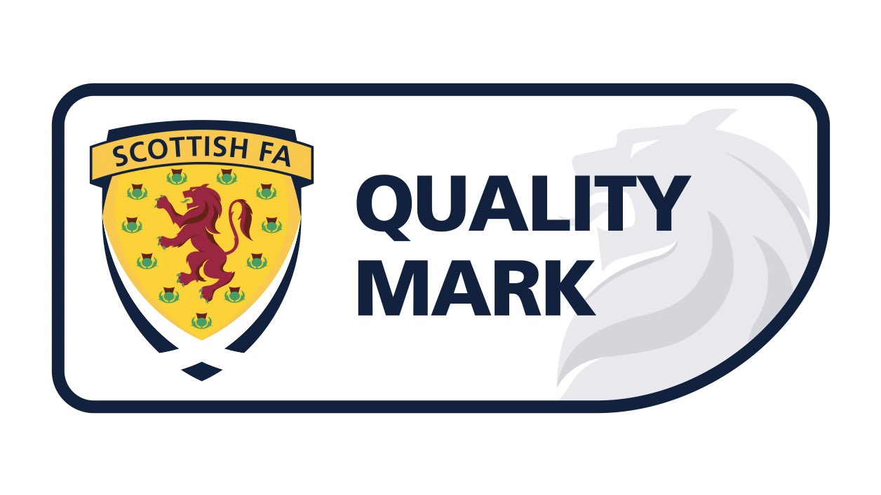 Big Town FC is a Scottish FA Quality Mark Award
