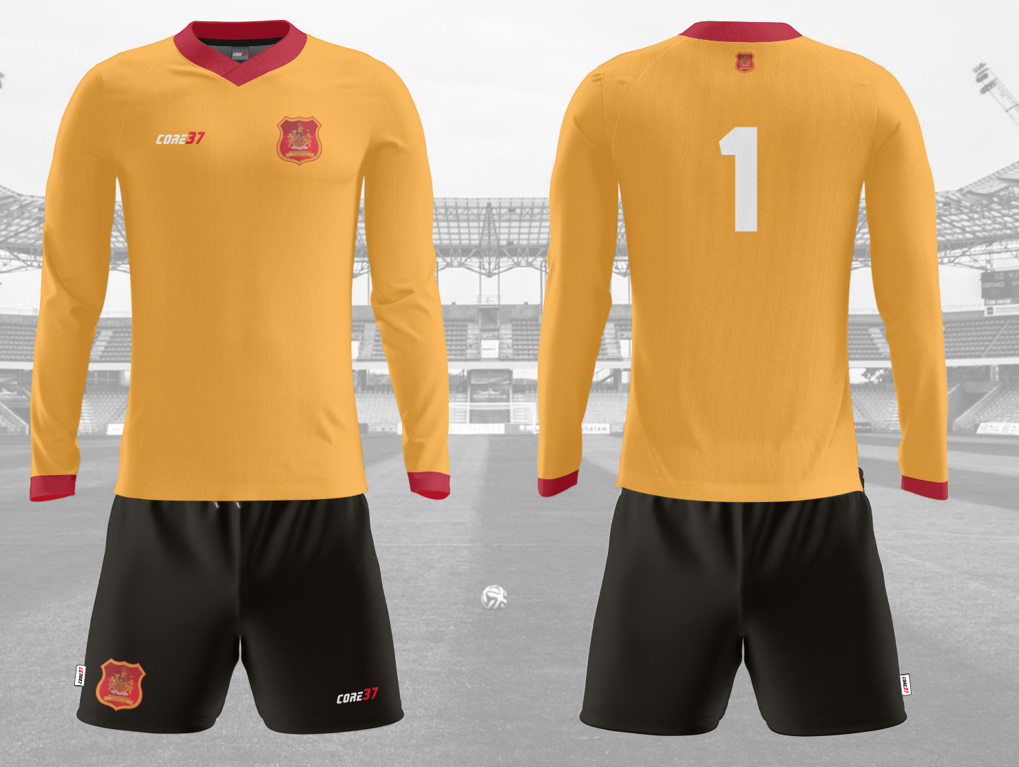 Rochdale Mens Home and Away Kit