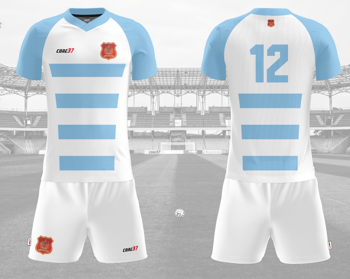Womens First Team Home and Away (SLEEVE)
