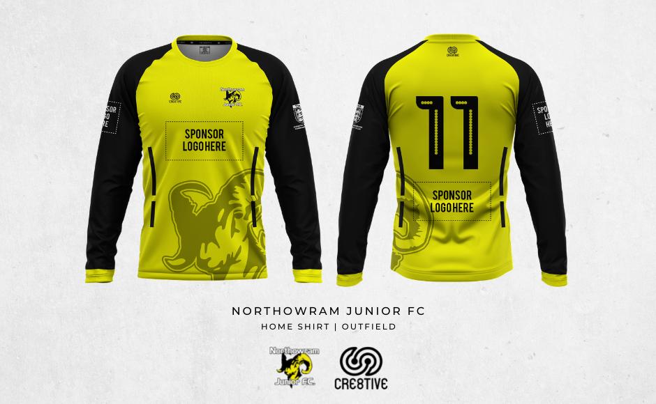 2021 U09 Juniors Home Kit Main Sponsor