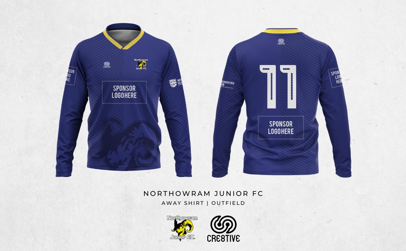 2021 U10 Bulls Away Shirt Main Sponsor