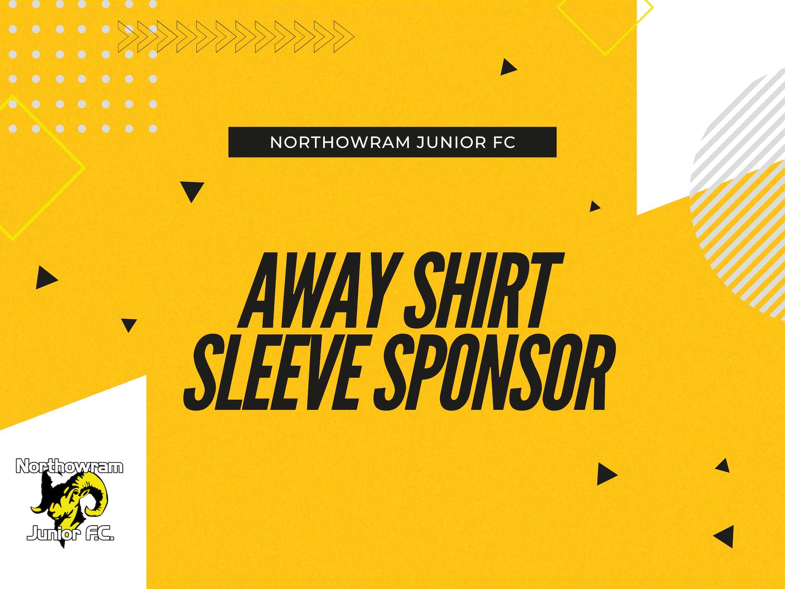 Away Shirt Sleeve Sponsor