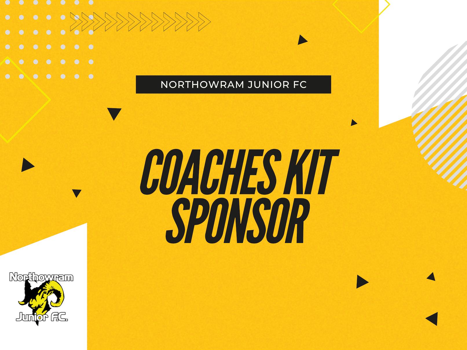 2021 Coaches Kit Sponsorship
