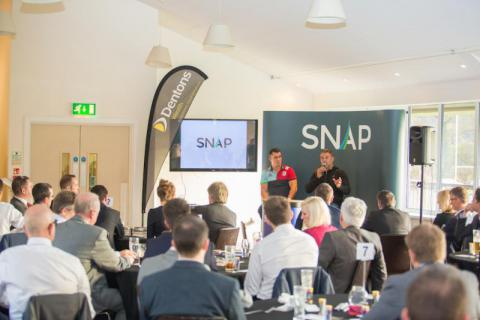 Dave Ward and Nick Easter Q & A with event sponsors - Dentons Wealth